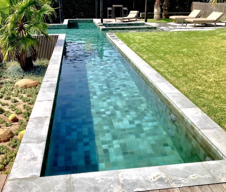 balinese swimming pool tiles